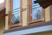 Metallbau Bernhard Bach - Französische Geländer / Fenstergitter